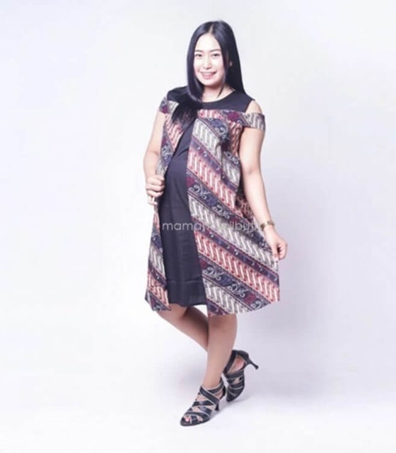 Mama Hamil  Bolero Batik Etnik Sabrina Cantik  1