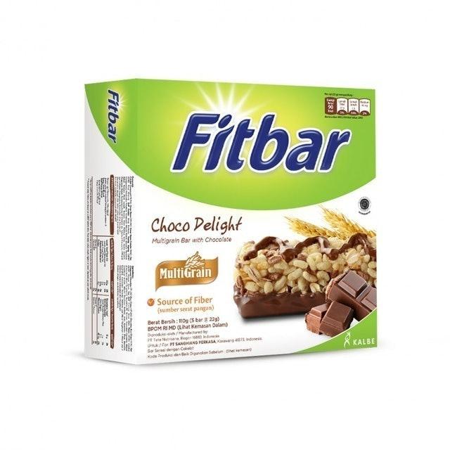 Kalbe Fitbar Multigrain Choco Delight 1