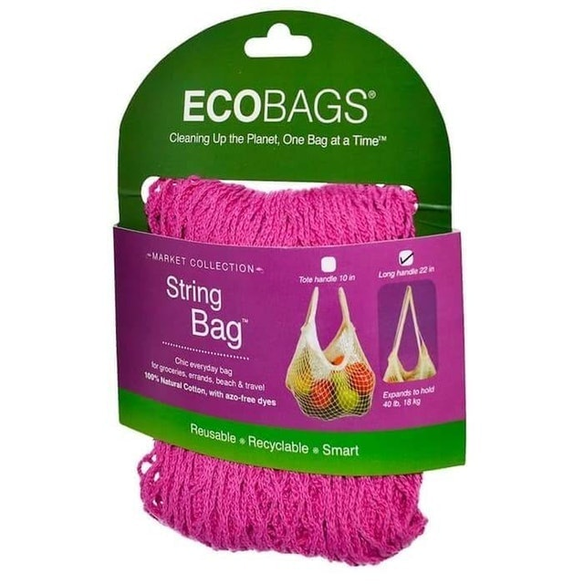 EcoBags  Market Collection String Bag - Long Handle 1
