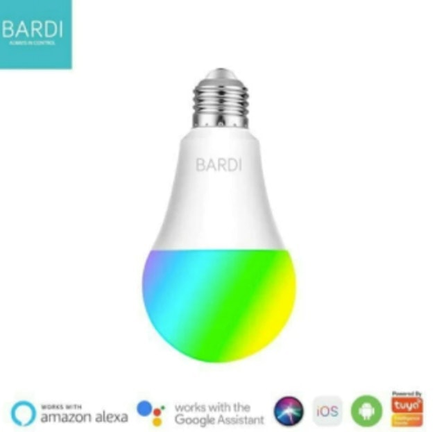 BARDI Smart LED Light Bulb RGBW 7W 1