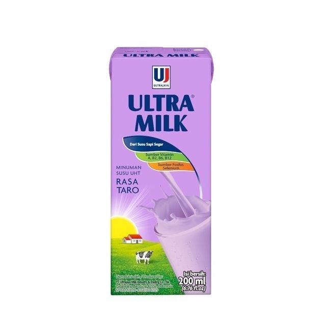 Ultra Jaya Ultra Milk Rasa Taro 1