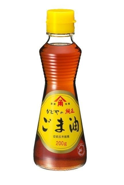 Kadoya Sesame Mills Kadoya no Jyunsei Goma Abura Minyak Wijen 1