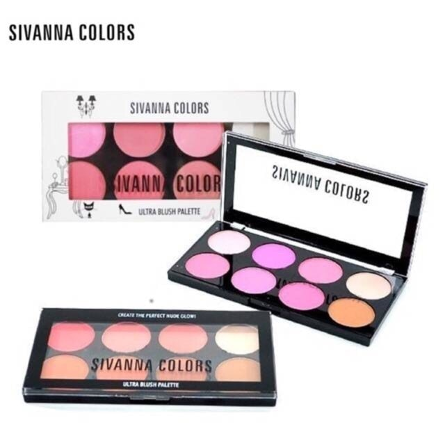 Sivanna Colors Ultra Blush Palette 1