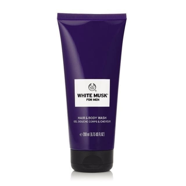 The Body Shop White Musk For Men Hair & Body Wash 1