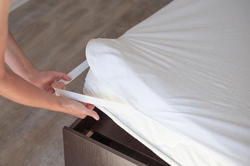 Sesuaikan ukuran matras protection dengan kasur Anda