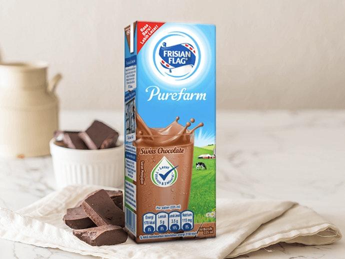 Susu cair, praktis dan mudah diminum
