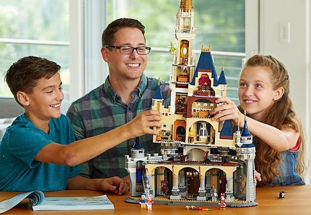 Remaja sampai dewasa : lebih banyak bricks, lebih menantang