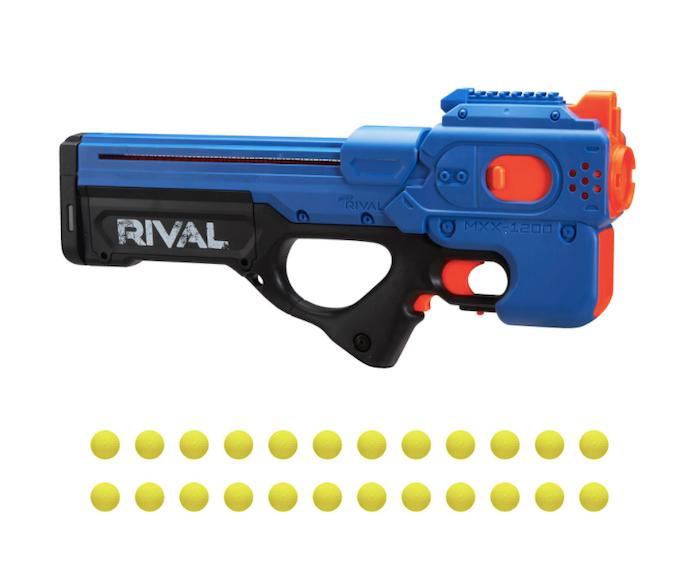 Nerf Rival, kecepatan pelurunya sangat tinggi!