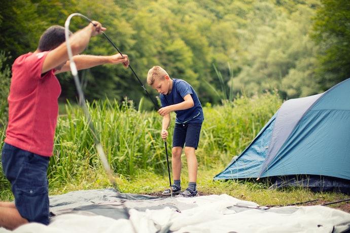 Pilih tenda yang mudah dibongkar pasang
