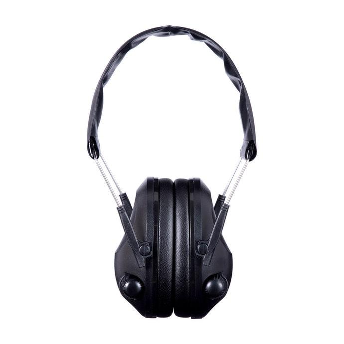 Earmuffs tipe aktif, diperlukan untuk berkomunikasi di tengah kebisingan
