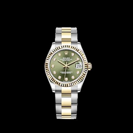 Seri Datejust yang dilengkapi berlian dan terlihat mewah