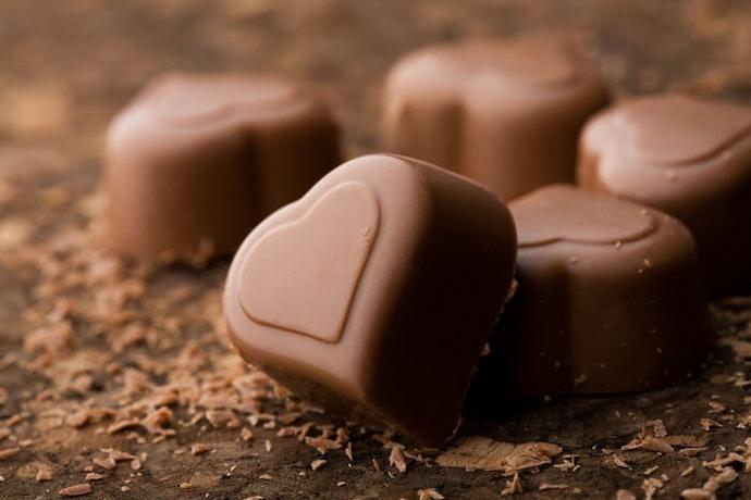 Coklat susu dengan rasa manis yang ringan