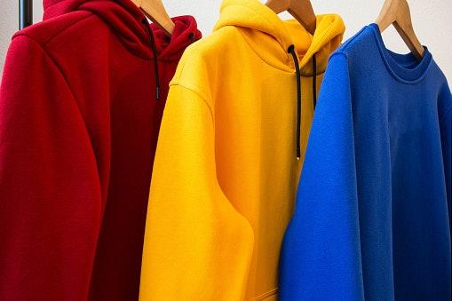 Pastikan memilih hoodie original