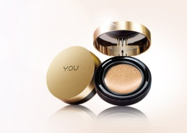 The Gold One, kosmetik dengan high coverage