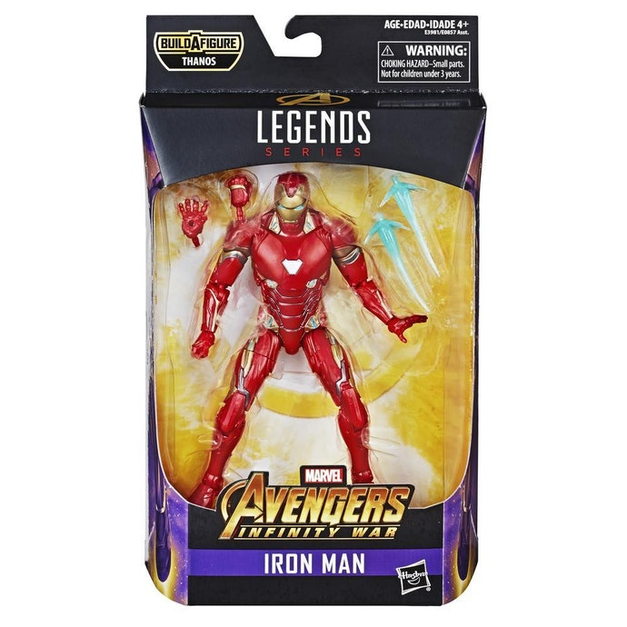 Untuk mendapat action figure Iron Man original, pilih yang memiliki lisensi Marvel