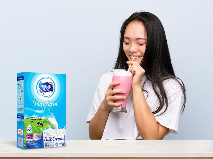 Susu bubuk dapat dinikmati dalam keadaan hangat dan dingin