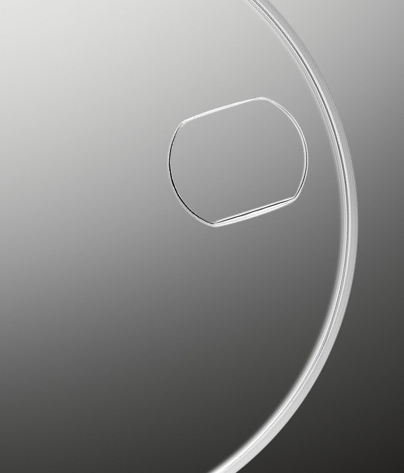 Jam tangan Rolex asli menggunakan teknologi cyclops lens