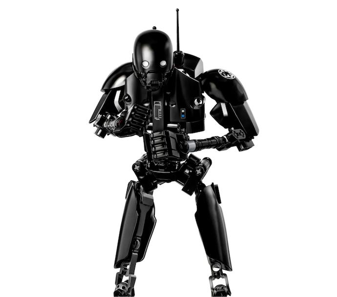Periksa artikulasi action figure Star Wars