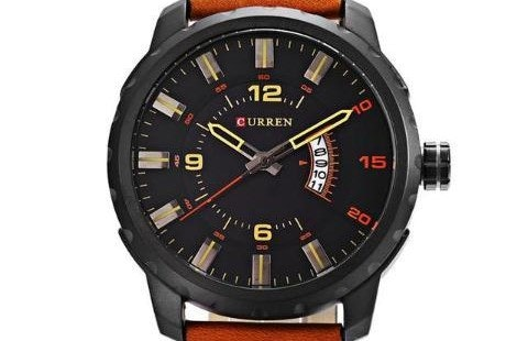 Pertimbangkan diameter case jam tangan