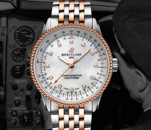 Seri Navitimer bagi Anda yang ingin merasakan kinerja jam tangan pilot