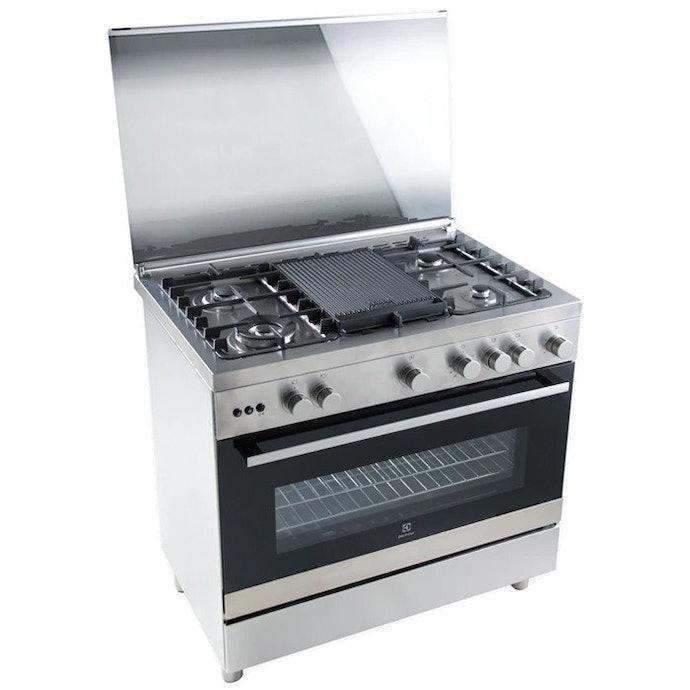 Free standing, biasanya dilengkapi oven
