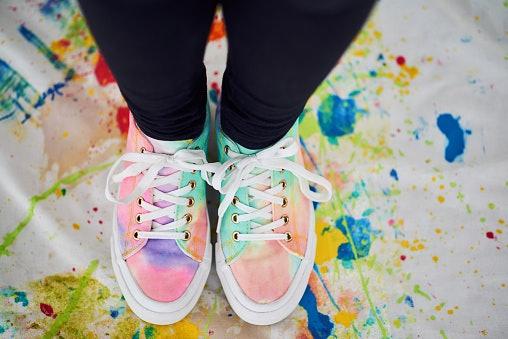 Pilih warna dan motif sesuai fashion style