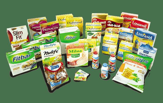 Produk nutritional, jawaban untuk pemenuhan nutrisi Anda