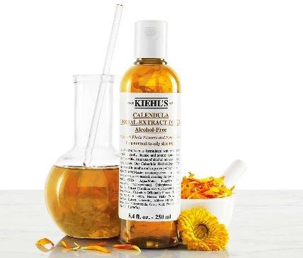 Kulit wajah sensitif: Ada Kiehl's Calendula Herbal Extract Alcohol-Free Toner yang cocok