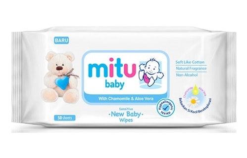 Bayi Baru Lahir, teruji hypoallergenic yang aman untuk kulit sensitif bayi