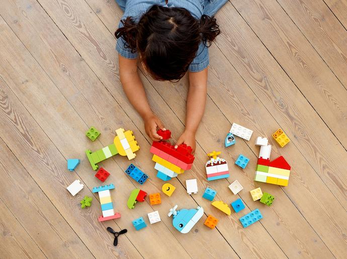 Bricks: Puzzle yang bisa membentuk bangunan atau kendaraan