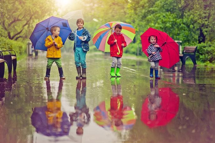 Payung klasik, lebih awet dan tidak mudah rusak