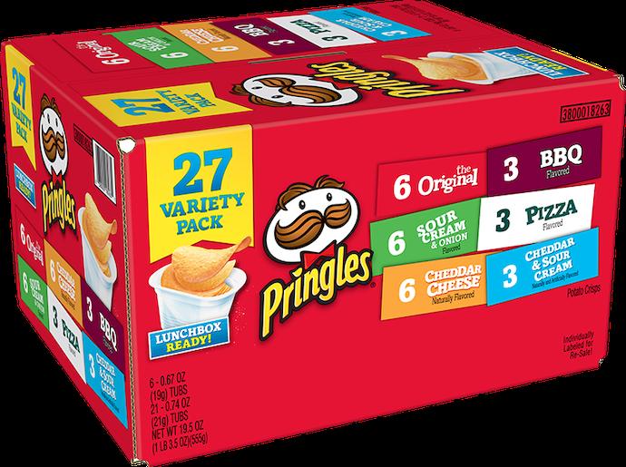 Cobalah bermacam-macam varian Pringles yang ada di toko online