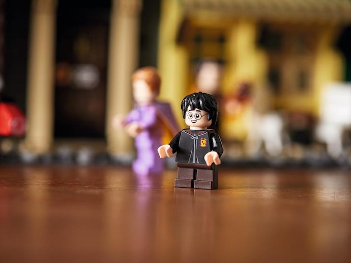 Minifigures: Replika karakter Harry Potter yang mini dan lucu