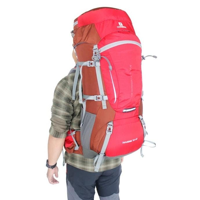 Kapasitas 45–lebih dari 60 liter, untuk pendakian yang lebih lama