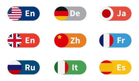 Periksalah pilihan bahasa yang tersedia