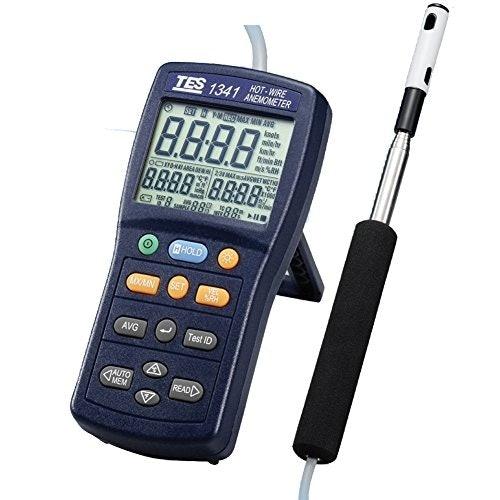 Anemometer hot-wire: Mampu mengukur kecepatan AC dan angin sepoi