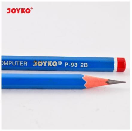 Pensil Joyko 2B: Untuk mengerjakan soal dengan lembar komputer