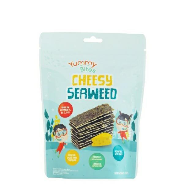 Yummy Bites Cheesy Seaweed: Gurih dan lezat dengan rasa keju