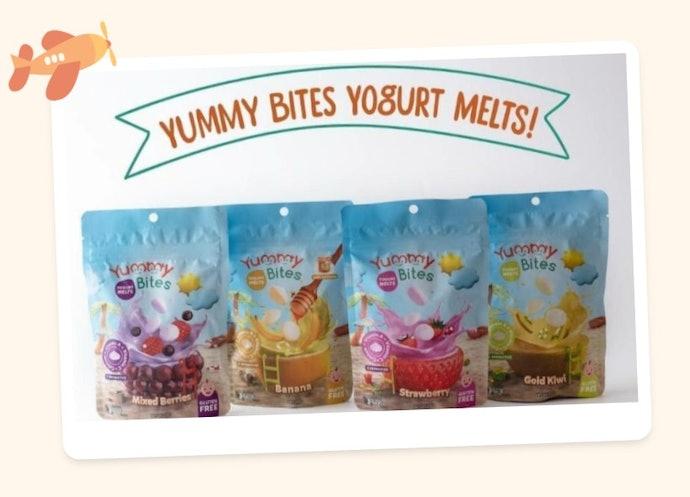 Yummy Bites Yogurt Melts: Baik untuk pencernaan anak