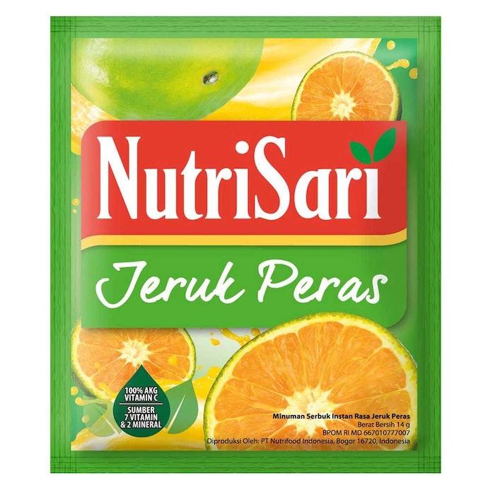 Berbagai varian rasa jeruk yang segar menggoda
