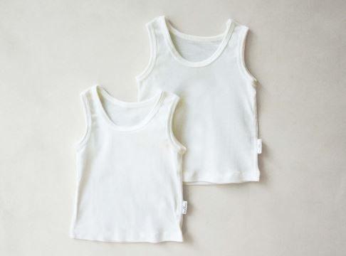 Model sleeveless top untuk bayi usia 6 bulan ke atas