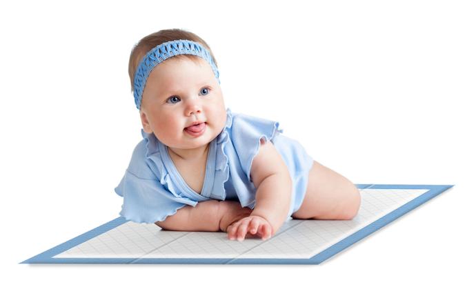 Perlak bayi sekali pakai atau disposable, praktis untuk dibawa bepergian