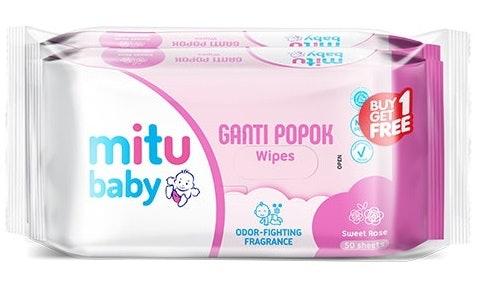 Ganti Popok, dengan formula Odor Fighting Fragrance untuk melawan bau