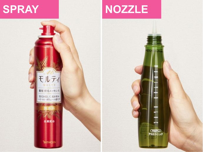 Pilihlah bentuk ujung botol yang sesuai