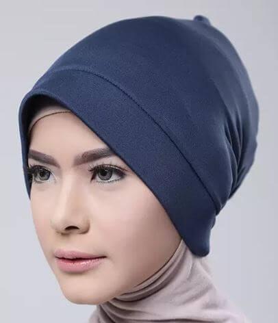 Model bonnet underscarf: Makin mudah melakukan variasi hijab