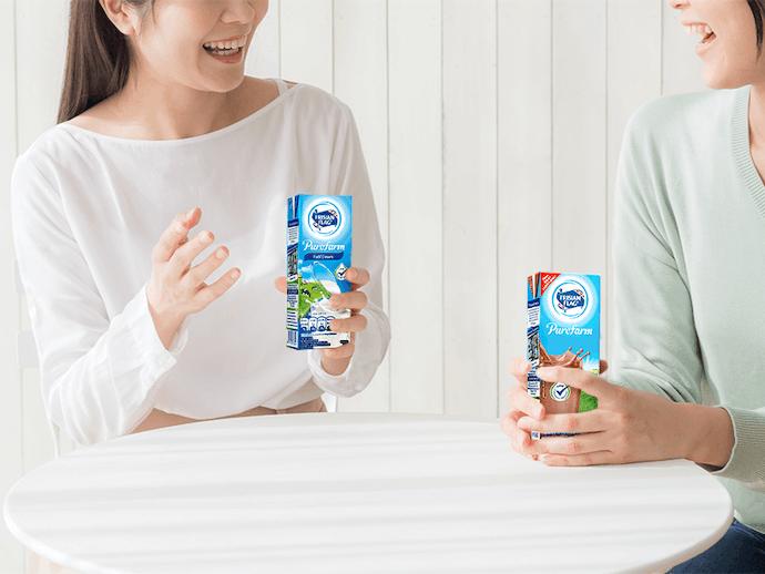 Susu UHT lebih praktis untuk dikonsumsi