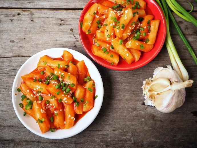 Rasa original: Dibalut dengan saus Korea yang cita rasanya khas