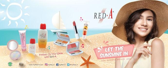 Lipstik Red-A, warna natural dan fresh untuk remaja