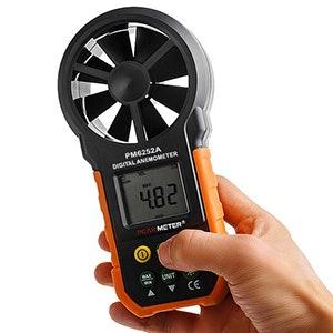 Periksa keberadaan fitur lain untuk mengukur hal selain kecepatan angin