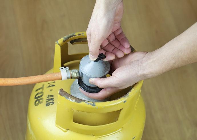 Gas, dapat digunakan di luar ruangan